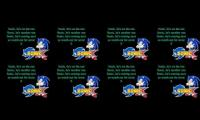 sonic x theme but 8 times