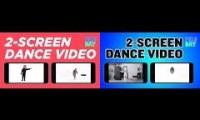 Dual Dance Music Video: LEFT Screen | Keone and Mari Have A Field Day + Right