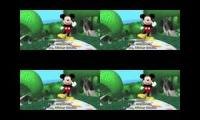 mickey mouse clubhouse x4