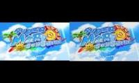 Super Mario Sunshine Title Theme (Original vs Beta version)