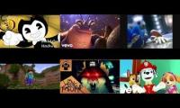Video Game Characters sing Shiny