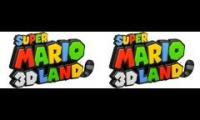 Super Mario 3D Land - World 1 Map & Special 1 Map Combined