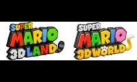 Super Mario 3D Land & Super Mario 3D World - World Clear Mashup