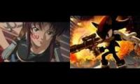 black lagoon shadow the hedgehog