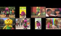 All Barney Home Videos Part 1