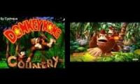 Donkey Kong Country & Donkey Kong Country Returns - Bonus Win Mashup