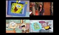 Nickelodeon TV Shows Quadparison