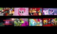 SML vs MLP Sparta Remix Eightparison
