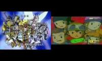 Digimon Frontier Arabic Opening - Censorship Comparison