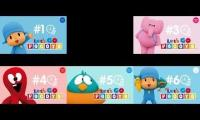 Let's Go Pocoyo - 6 Videos In One