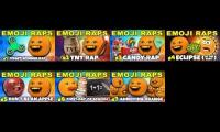 7 Emoji raps playing at the same time