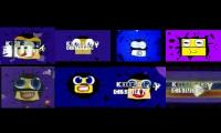 Half of 16 Klasky Csupos (a.k.a Klasky Csupo robot logo vs remakes and old vers)
