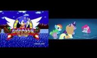 MLP Movie x Sonic drowning theme
