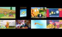 All of 8 tv shows played at once #2