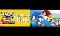 Sonic in CUPHEAD RAP