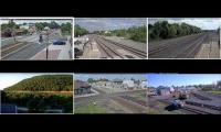 Virtual Railfan Livestream Collection (Ashland, 2x La Plata, Horseshoe, 2x Deshler)