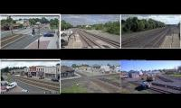 Virtual Railfan Livestream Collection (2x Ashland, 2x La Plata, 2x Deshler)