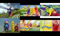 6 Teletubbies Episodes at once