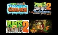 PVZ2 - Lost dark jurassic caves