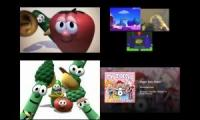 Veggietales spoof comparision