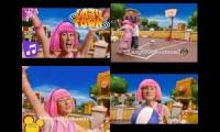 LazyTown Time To Play But It's In 4 Defferent Languages 1
