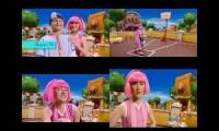 LazyTown Time To Play But It's In 4 Defferent Languages 2