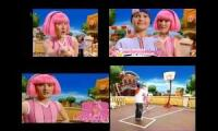LazyTown Time To Play But It's In 4 Defferent Languages 3