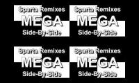 Sparta Remix Mega Side By Side By Side (Group Of 4 Videos)