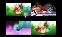 Angry Birds Get Captured Sparta Remix Quadparison