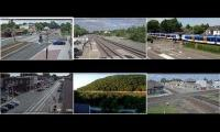 Live Railfanning from Across the US and Netherlands