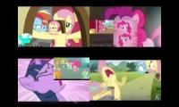 My little pony sparta remix quadparison