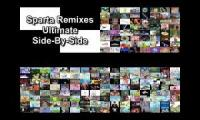 Sparta remixes mega side by side