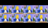 Steamed Hams but its the original 8X and they're all played at different times