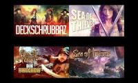 HWSQ 93 - Sea of Thieves - Pandorya, Gronkh, Tobi und Curry