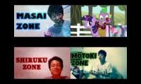【レッドゾーン】MOTOKI PONY MASAI SHIRUKU ZONE