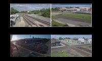 Railfan Live View (4 cameras)