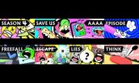 every bfb episode playded at once 1-8