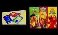 Elmo's World Opening DVD and VHS Compairison