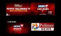youtube tamil news channels