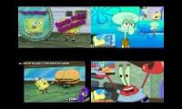 Spongebob Squarepants Sparta remixes Quadparison 2