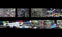 ALL 999999999999999999999 VIDEOS AT ONCE (annoying gooses, scans, sparta remixes, clocks and more)