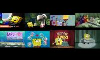 spongebob songs playded at once