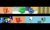 Bfdi auditions, but's it's with 7 other reanimations