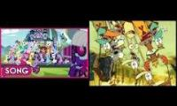 My Little Pony: Friendship Of Magic & Camp Lazlo Theme Song Remix