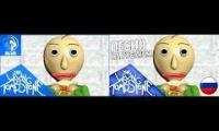 baldis basics song ft or3o original vs russian