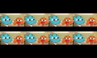 Every time Gumball and Darwin's voice actor changed because of man issues SO FAR
