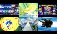 Sonic X/F:Sonic Drive English/French/Japanese Mashup