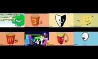 Bfdi auditions, but's it's has 8 clones
