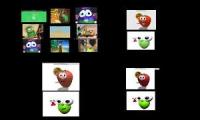 VeggieTales Shapetales Cartoony Comparison
