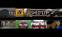 Every shed 17 and project g-1 trailer played at once